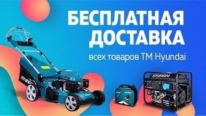 Бесплатная доставка товаров ТМ HYUNDAI