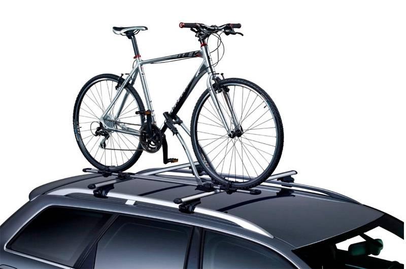 Велосипедные крепления на крышу