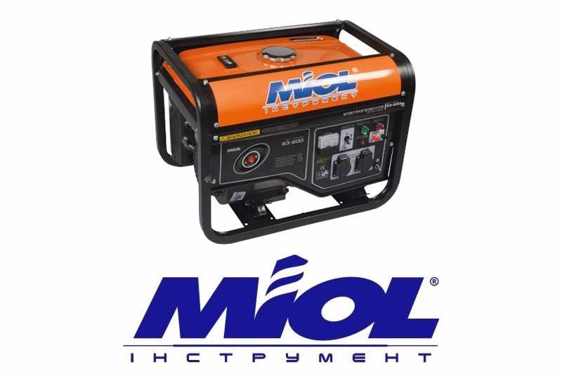 Бензиновые генераторы MIOL