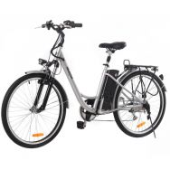 "Электровелосипед MAXXTER CITY 26"" (серебро)"